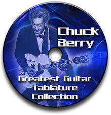CHUCK BERRY ROCK N ROLL GUITAR TABS TABLATURE SONG BOOK SOFTWARE CD