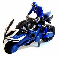"POWER RANGERS Samurai 8"" Motorbike & Blue Rider figure, Great condition NICE!"
