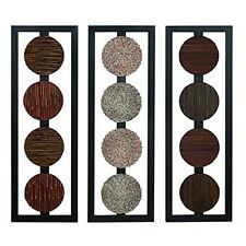 Benzara 68212 Wood Wall Panel Anytime Wall Decor Refresh New
