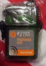 Fishing Kit cards & Kit learn&live survival gear emergency disaster tactical UST