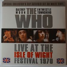 The Who - LIVE at the Isle Of Wight Festival 1970 3LP limited blue vinyl NEU