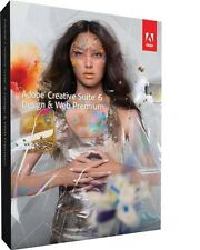 Adobe CS6 DESIGN & Web PREMIUM Per Windows GENUINE