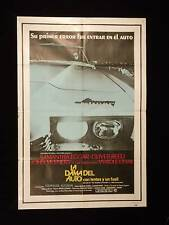 THE LADY IN THE CAR WITH GLASSES AND A GUN * REED * ARGENTINE 1sh POSTER 1970