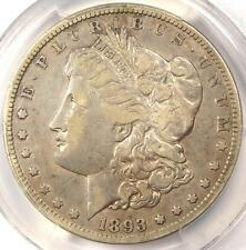 1893-CC Morgan Silver Dollar $1 - PCGS VF20 - Rare Date - Certified Coin