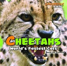 Cheetahs: World's Fastest Cats (Dangerous Cats)-ExLibrary