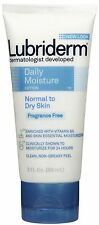 Lubriderm Daily Moisture Lotion Fragrance Free 3 oz (Pack of 2)