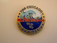 Challenge Coin USS CHICAGO SSN 721 Windy City Warriors