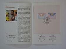 (10j14) Bund Erinnerungsblatt 2010 mit ESST Mi.Nr. 2790-2791 Post Grußmarken