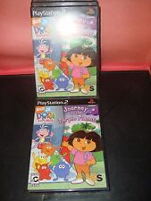 Dora the Explorer: Journey to the Purple Planet Sony PlayStation 2 2005 NEW