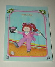 Vintage Cabbage Patch Kids TV Show Greeting Card 1983 Dance Friendship NOS New