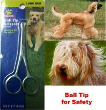 New Top Paw Pet Dog Dogs Round Ball Tip Scissors Designed for safety of your pet