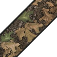 LEAF HUNTING CAMO 15' Wall Sticker Border MOSSY OAK Wallpaper Room Decor Woods