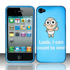 For Apple iPhone 4 4S Rubberized HARD Protector Case Phone Cover Bad Baby
