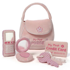 BABY GUND  - MY FIRST PURSE - 5 PIECE  PLAYSET -  PINK CELL  PHONE