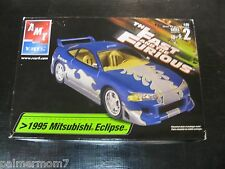 AMT ERTL The Fast And The Furious 1995 Mitsubishi Eclipse - RARE BLUE VARIANT!!!