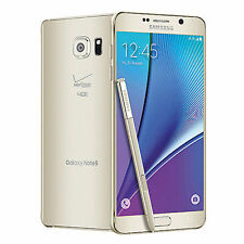 Samsung Galaxy Note5 SM-N920 - 32GB - Gold Platinum (Verizon) Smartphone
