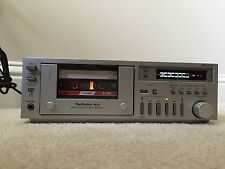 Technics RS-M02 High End Cassette Deck Japan COLLECTOR ITEM
