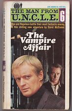 Man From UNCLE #6 The Vampire Affair - David McDaniel Ace Books 1966 1st Print