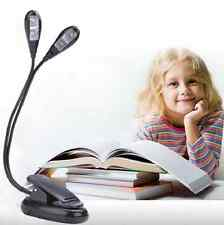 Adjustable Goosenecks Clip on LED Lamp for Music Stand and Book Reading Light US