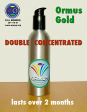 Ormus Gold: double-concentrated monoatomic supplement (250 ml) with serum pump