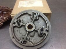 HALF TRACK COMMUTATOR STARTER END PLATE WITH BUSHING NOS DELCO 1864530