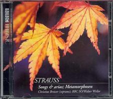 RICHARD STRAUSS: SONGS & ARIAS + METAMORPHOSEN - BBC CD / CHRISTINE BREWER