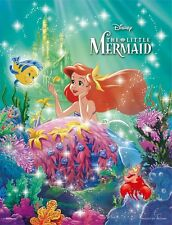 Disney The Little Mermaid Glow in the Dark Petit Jigsaw Puzzle Ocean 300pcs