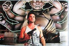 KURT RUSSELL SIGNED 11x17 PHOTO DC/COA PROOF (BIG TROUBLE IN LITTLE CHINA)