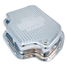 Transmission Pan - 5459 Transmission Pan Deep GM TH400 Chrome for Buick Apps.
