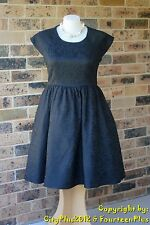 Brand New City Chic Dress - Size S (16) - FEMME ROYALE (Black) - NWOT - Elegant!