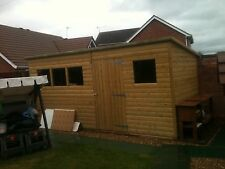 PENT SHED 10x6 ****FREE DELIVERY & ERECTION****