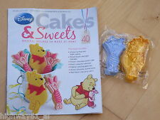 EAGLEMOSS DISNEY CAKES & SWEETS WINNIE THE POOH & PIGLET COOKIE CUTTER No 40 NEW
