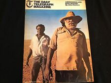 60s MAGAZINE - ARTICLES INC -ABORIGINES AND OPAL MINERS - RUSSIAN FUR FASHION