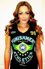 Punishment Athletics Girls Cyborg Brazil Premium Soft Cotton Tee Small