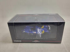 Rare 1:43 Ebbro Car Model Courage LC70 Mugen No.12 2006 Le Mans Dark Blue 824