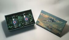 RAF Royal Air Force Whisky Glasses 70th D-Day Fathers Day Gift Ideas for Him