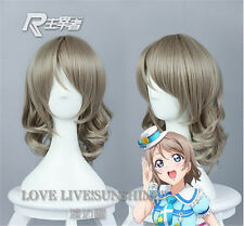 New Love Live Sunshine Watanabe You Cosplay Party Gray Short Hair cos Wig