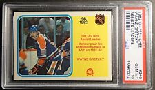 1982 O-PEE-CHEE WAYNE GRETZKY ASSISTS LEADER #240 PSA 10 OILERS   POP 50