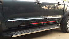 BLACK BODYCLADDING WILDTRAK FORD RANGER T6 MK1 MK2 PX DOUBLE DUAL CAB 2015