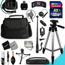 Ultimate ACCESSORIES KIT w/ 32GB Memory + MORE  f/ Panasonic LUMIX GX7