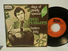 "david mc williams""days of pearly spencer""single7""or.fr.maxi17003de 1968"