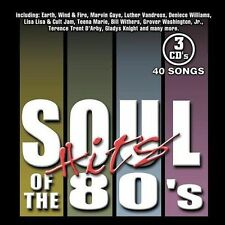 Soul Hits of the 80's [Sony] [Box] by Various Artists (CD, Feb-2004, 3 Discs,...