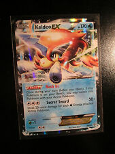 EX KELDEO EX Pokemon PROMO Card BW61 Black Star Set Collector Tin Black&White BW