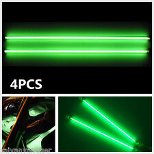 "2×6""+2×12"" Car Green Undercar Underbody Neon Kit Lights CCFL Cold Cathode Tube"