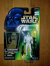 Star Wars Power of the Force Action Figure Stormtrooper Free Shipping