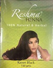 Reshma Henna Raven Black Color 150g Pack for Hair HERBAL NATURAL Powder EXP 2018