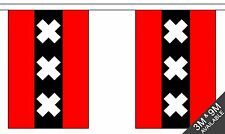 AMSTERDAM BUNTING 9 metres 30 flags Polyester flag