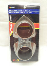 """SPECTRE 4642 EXHAUST SYSTEM COLLECTOR MUFFLER REDUCER 2.5"""" 2-1/2 TO 2.25 2-1/4"""