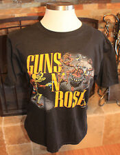 Vintage Guns N Roses Banned Appetite For Destruction Tour Tee-Robot Rape-1987-XL