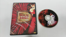 MOULIN ROUGE DVD NICOLE KIDMAN EWAN McGREGOR DESCATALOGADO SOLD OUT!!!